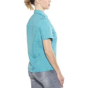 Meru Melissia Blusa SS funcional Mujer, turquoise